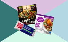Best Frozen Meals, Healthy Frozen Meals, Healthy Foods, Pureed Food Recipes, Whole Food Recipes, Vegan Recipes, Costco Freezer Meals, Vegan Grocery Store, Salmon And Rice