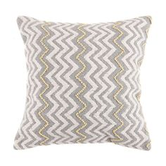 Berber Zigzag Cushion   Dunelm