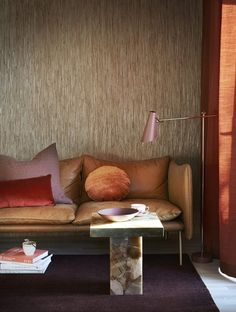 Today, the Home & Decoration brings you the Top 10 Color Trends That Will Dominate Interior Design World. These Color Palette, which brings back, with a new Autumn Interior, Orange Interior, Red Interior Design, Interior Stylist, My Living Room, Home And Living, Living Spaces, Modern Living, Red Interiors