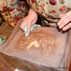Пошаговый фото мастер класс по декупажу хлебницы - как сделать стильный декор своими руками