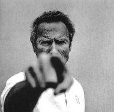 Clint Eastwood, Witte Fotografie, Portretfotografie, Vintage Fotografie, Portretten Van Beroemdheden, Inspirerende Mensen, Beroemde Mensen, Portret Man, Geschiedenis Van De Film