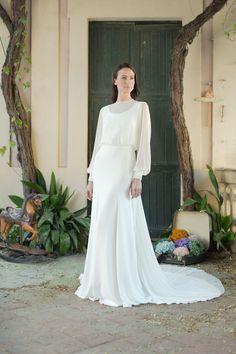 Marta Martí Bridal 2016 #modest