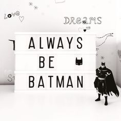 Light box always be batman Light Box Quotes Funny, Cinema Light Box Quotes, Cinema Box, Light Up Message Board, Light Board, Marquee Sign, Marquee Lights, Sign Quotes, Funny Quotes