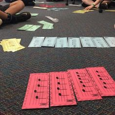 If you teach students the process, it's easy for them to read, compose, and arrange new melodies in centers.