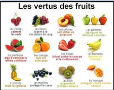 Les fruits :)