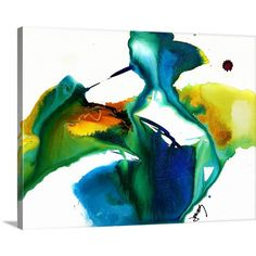Great Big Canvas Flow XVII by Jonas Gerard Painting Print on Canvas