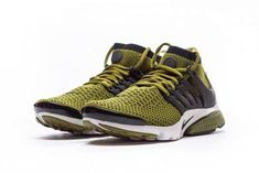 0073a414da659 The Nike Air Presto Ultra Flyknit Olive features Olive Flak uppers