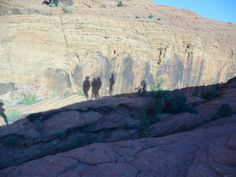 Hiking in Utah, USA