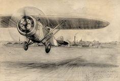 """Siódmego czerwca 1932 roku w zakładach Plagego-Laśkiewicza w Lublinie wyprodukowano pierwszy samolot """"Lublin R-XIIIA"""". Maszyny tego typu tyle, że w bojowej wersji brały udział w wojnie obronnej 1939 roku. Produkcję """"Lublin R-XIIIA"""" po upadku firmy kontynuowała Lubelska Wytwórnia Samolotów. Bombardowanie, które miało miejsce 2 września 1939 roku zniszczyło część zabudowań fabryki. Wytwórni samolotów już nigdy nie odbudowano.  #lotnictwo #Lublin"""
