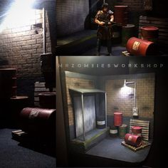 Custom 1/12 Scale Diorama (Marvel Legends) Custom Diorama / Playset