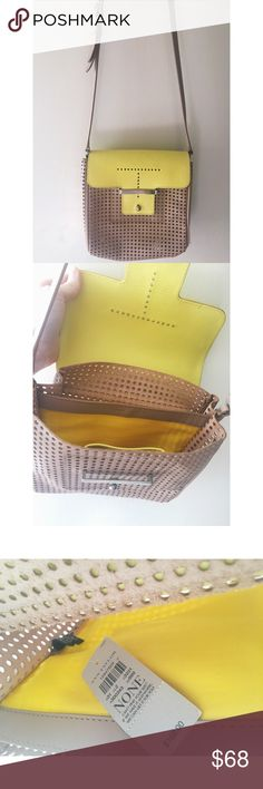 Ann Taylor -Cross Body Purse-BNWT☀️ Ann Taylor -Cross Body Purse☀️ -Brand New With Tags -It's a Vibrant Yellow & Tan color -Perfect for Summer☀️ Any questions don't hesitate to ask! Thanks! :) Ann Taylor Bags Crossbody Bags