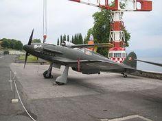 Fiat G.55 exhibido en el Museo Storico dell'Aeronautica Militare di Vigna di Valle.