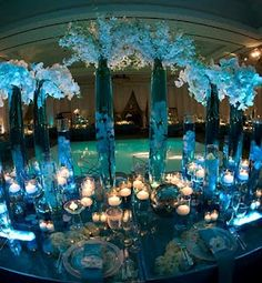 Tablescape:  Stunning colors and design