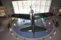 零式艦上戦闘機 - 筑前町立大刀洗平和記念館で公開されている世界唯一の現存機体である三二型
