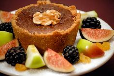 Individual Chocolate Nut Pies (Jacques Pepin)