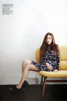 Jessica of Girls' Generation (SNSD), Harper's Bazaar 2014 May & Godnamo Jessica Jung, Jessica Snsd, Jessica & Krystal, Krystal Jung, Kpop Girl Groups, Kpop Girls, Korean Girl, Asian Girl, Asian Ladies