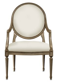 Antoinette Chair by Currey & Co. - From The Home Decor Discovery Community at www.DecoandBloom.com