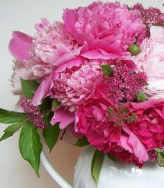 The cooler days of early fall is the best time of year to plant peonies. Peonies are long lived perennials and so it is worth the effort to prepare the site well before you plant. Peonies prefer a sunny, well-dranied site. Dig a hole larger than the root and amend the soil with compost or bonemeal. The crown buds of herbaceous peonies should be no more than 2 inches below the surface of the soil. If planted too deep, they may not flower for several years. If you mulch your garden, do not put...