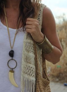Look hippie para o Verão...Amei!                                                                                                                                                                                 Más                                                                                                                                                                                 Más