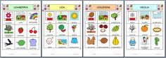 Spanish Classroom, Teaching Spanish, Body Preschool, Bingo, Bilingual Education, Speech Therapy, Preschool Seasons, Montessori, English