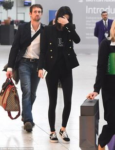 Smarten up in a Balmain blazer like Kendall #DailyMail Click 'Visit' to buy now