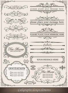 European-style lace border 03-- vector material | Download free Vector