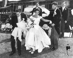 Wedding of JBK & JFK in Morning Dress