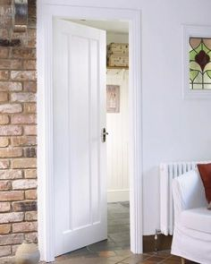 White Worcester Internal Door #whitedoors
