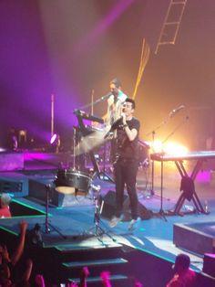 Dan Smith of Bastille, Cincinnati, Ohio 10/17/14. DAN SMITH ON MY VERY OWN CAMERA:)