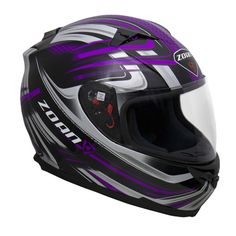 Zoan Blade SVS M/C Snow Helmet (Single Lens)