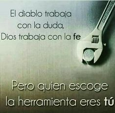 #frasescristianas #consejosbiblicos #consejoscristianos Gods Love Quotes, Quotes About God, Faith Quotes, Bible Quotes, Biblical Verses, Bible Verses, Bible Words, God Loves Me, Spanish Quotes