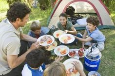 Camping and Hiking Foods for Kids