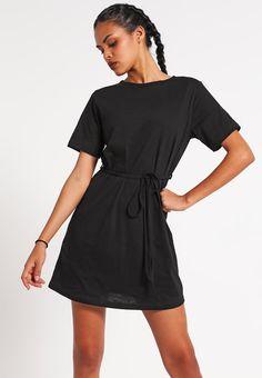 New Look Robe en jersey - black - ZALANDO.FR