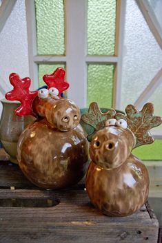 Weihnachtsdekoration - My list of best Diy and Crafts Old Christmas, Father Christmas, Xmas, Ceramics Projects, Clay Projects, Hand Built Pottery, Play Clay, Christmas Decorations, Christmas Ornaments