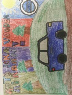 Volvo on hyvä auto Volvo, Painting, Art, Art Background, Painting Art, Kunst, Paintings, Performing Arts, Painted Canvas