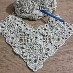 Transcendent Crochet a Solid Granny Square Ideas. Inconceivable Crochet a Solid Granny Square Ideas. Crochet Motifs, Crochet Blocks, Granny Square Crochet Pattern, Crochet Squares, Crochet Shawl, Crochet Doilies, Crochet Patterns, Crocheted Lace, Beau Crochet