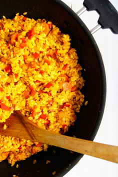 Gluten Free Recipes, Healthy Recipes, Healthy Food, Paella, Halloumi, Risotto, Food To Make, Lunch Box, Tasty