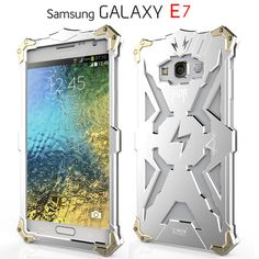>> Click to Buy << For SAMSUNG Galaxy J7 E7 Phone Cases Simon Brand Thor Series Aviation Aluminum Metal Cover Case for Galaxy J7 E7 5.5 Inch Golden #Affiliate
