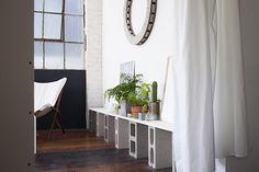 Black and white working studio. Un espacio de trabajo sereno e inspirador - Casa Haus - Decoración