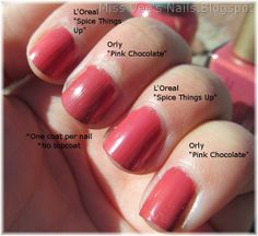 L'Oreal Spice Things Up nail color Soft Autumn Deep, Dark Autumn, Soft Autumn Color Palette, Autumn Colours, Deep Autumn Makeup, Seasonal Color Analysis, Pink Chocolate, Color Me Beautiful, Soft Corals