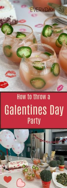 A Galentines Day Party Guide - Celebrate With Friends! Plan a Valentine's Day . - A Galentines Day Party Guide - Celebrate with Friends! Plan a Valentine's Day… - A Galentines Day Party Guide - Celebrate with Friends! Plan a Valentine' Friends Valentines Day, Unique Valentines Day Gifts, Valentines Day Cookies, Birthday Gifts For Sister, Valentines Day Party, Valentines Day Decorations, Valentines For Kids, Valentine Ideas, Citrus Sauce Recipe