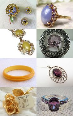 Gorgeous Vintage Finds---VJT SOTW by Ali on Etsy--Pinned with TreasuryPin.com