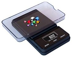 Weighmax Dream Series Digital Pocket Scale, 100 by g, Black Digital Pocket Scale, Digital Scale, Weighing Scale, Black Rubber, The 100, Clutter, Cancer, Tray, Trends