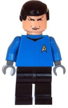 DOCTOR McCOY Custom Printed /& Inspired LEGO Star Trek Minifigure
