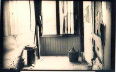 Annes kamer voor de restauratie die in 1955 volgde