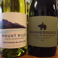 "This week starts off with a bang up bottle of Sauvignon Blanc from Mount Riley Wines in Marlborough. The 2010 Bernabeleva ""Navaherreros"" Garnacha is outstanding through and through.   #mountrileywines #nzwine #sauvignonblanc #whitewine #marlborough #navaherreros #garnacha #vinosdemadrid #spanishwine #winetasting #winelovers #vinotinto #wine #garnachamonth #lakewoodny #cheers"