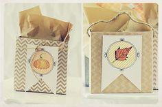 #DIY Fall Treat Bags - Free Printable Tags