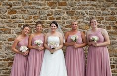 Lovely Laura and her Gorgeous bridesmaids! Dusky Pink Bridesmaid Dresses, Wedding Dress Shopping, Wedding Dresses, Pink Grey, Fashion Dresses, Wedding Day, Bridal, Weddings, Beautiful