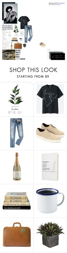 """No one else is dealing with your demons"" by curious-and-young ❤ liked on Polyvore featuring Uniqlo, Calvin Klein, Tod's, KEEP ME, Moleskine, Brooklyn Slate Co., FOSSIL, men's fashion and menswear"