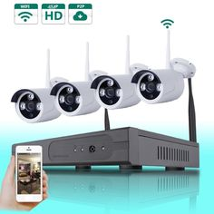 Cheap security wifi, Buy Quality security ip directly from China security outdoor Suppliers: Wireless Outdoor IP Camera System Nightvision Security HD Network Wifi NVR Kit Smartphone view Ip Camera System, Wireless Security Camera System, Wireless Security Cameras, Wireless Camera, Security Surveillance, Security Alarm, Surveillance System, Smartphone, Best Home Security